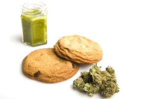 ingest marijuana by eating