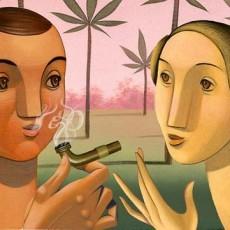 Marijuana Couple