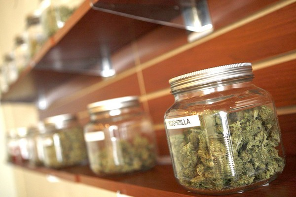 dispensary weed jars