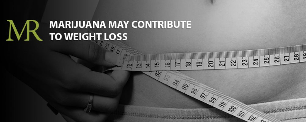 Study: MJ May Contribute to Weight Loss